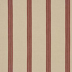 Signature Artiste de la Mer Fabrics | Leblanc Stripe - Madder | Tissus pour rideaux | Designers Guild
