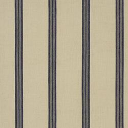 Signature Artiste de la Mer Fabrics | Leblanc Stripe - Navy | Vorhangstoffe | Designers Guild