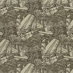 Signature Artiste de la Mer Fabrics | Main Sail - Vintage Canvas | Curtain fabrics | Designers Guild
