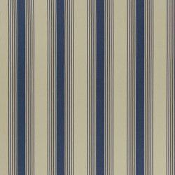 Signature Artiste de la Mer Fabrics | Silver Lake Stripe - Navy | Tessuti tende | Designers Guild