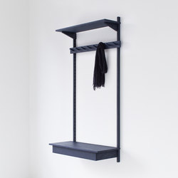 Unit Coat Rack | Wandgarderoben | STATTMANN NEUE MOEBEL