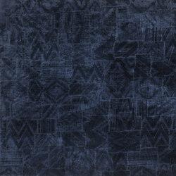 Signature Modern Lodge Fabrics | Chastleton Velvet - Indigo | Tejidos para cortinas | Designers Guild