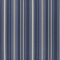 Signature Modern Lodge Fabrics | Big Basin Stripe - Indigo | Curtain fabrics | Designers Guild