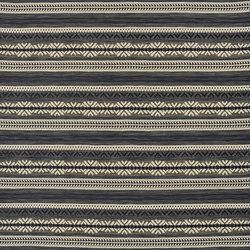 Signature Modern Lodge Fabrics   Mountain Pass Stripe - Winter   Tejidos para cortinas   Designers Guild
