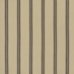 Signature Modern Lodge Fabrics | Boathouse Ticking - Brown | Vorhangstoffe | Designers Guild