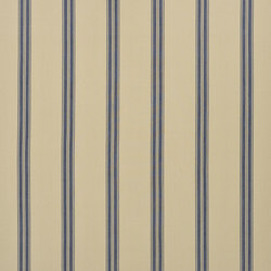 Signature Modern Lodge Fabrics | Boathouse Ticking - Blue | Vorhangstoffe | Designers Guild