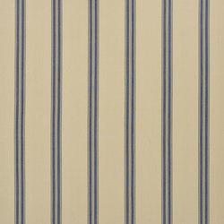 Signature Modern Lodge Fabrics | Boathouse Ticking - Blue | Curtain fabrics | Designers Guild