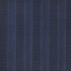 Signature Modern Lodge Fabrics | Shawnee Weave - Indigo | Tessuti tende | Designers Guild