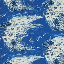 Signature Sur la Cote Fabrics | Beau Soleil - Mediterranean | Curtain fabrics | Designers Guild
