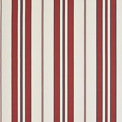 Signature Sur la Cote Fabrics | Marchant Stripe - Regatta | Tessuti tende | Designers Guild