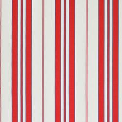 Signature Sur la Cote Fabrics | Marchant Stripe - Riviera | Vorhangstoffe | Designers Guild