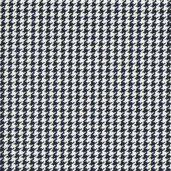 Signature Sur la Cote Fabrics | Caraval Houndstooth - Navy | Tissus pour rideaux | Designers Guild
