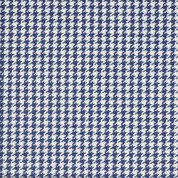 Signature Sur la Cote Fabrics | Caraval Houndstooth - Cobalt | Curtain fabrics | Designers Guild