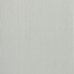 Signature Tickings Fabrics | Kempton Ticking - Flint | Curtain fabrics | Designers Guild