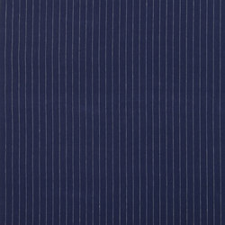 Signature Tickings Fabrics | Walker Pinstripe - Navy | Curtain fabrics | Designers Guild