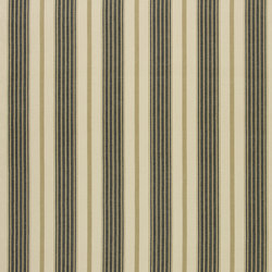 Signature Tickings Fabrics | Marlberry Stripe - Jet | Curtain fabrics | Designers Guild