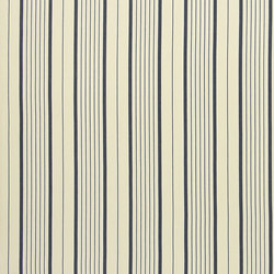 Signature Tickings Fabrics | Antibes Stripe - Azure | Tejidos para cortinas | Designers Guild