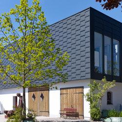Falzsysteme | Rauten | Fassadenkonstruktionen | RHEINZINK