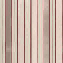 Signature Tickings Fabrics | Antibes Stripe - Barn | Curtain fabrics | Designers Guild