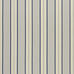 Signature Tickings Fabrics | Antibes Stripe - Navy | Curtain fabrics | Designers Guild
