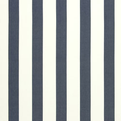 Signature Tickings Fabrics | St Remy Stripe - Navy | Tessuti tende | Designers Guild