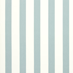 Signature Tickings Fabrics | St Remy Stripe - Light Blue | Curtain fabrics | Designers Guild