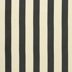 Signature Tickings Fabrics | St Remy Stripe - Charcoal | Tessuti tende | Designers Guild
