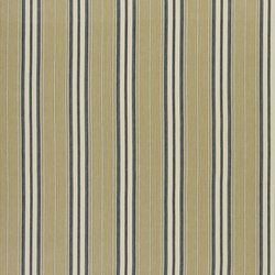 Signature Tickings Fabrics | Toulon Ticking - Navy | Vorhangstoffe | Designers Guild