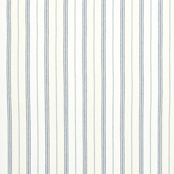 Signature Tickings Fabrics | Maritime Linen Ticking - Denim | Curtain fabrics | Designers Guild