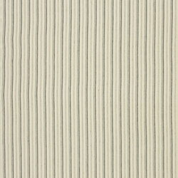 Signature Tickings Fabrics | Upper Street Stripe - Ivory | Curtain fabrics | Designers Guild