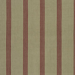 Signature Tickings Fabrics | Driftwood Stripe - Barn | Curtain fabrics | Designers Guild