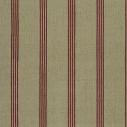 Signature Tickings Fabrics | Driftwood Stripe - Barn | Vorhangstoffe | Designers Guild