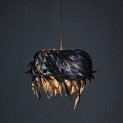 luna oscura | Suspended lights | pluma cubic