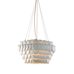 Cranton Hexagonal Pendant, Sand and Taupe Braided Cable | Iluminación general | Original BTC Limited