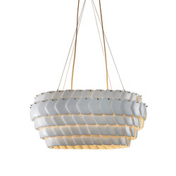 Cranton Oval Pendant, Sand and Taupe Braided Cable | Iluminación general | Original BTC Limited