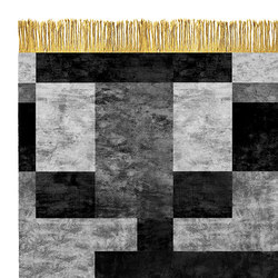 Mono W5 Silver | Rugs / Designer rugs | Henzel Studio