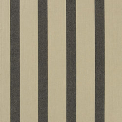 Signature Vintage Linens Fabrics | Bowsprit Awning - Black/Linen | Curtain fabrics | Designers Guild