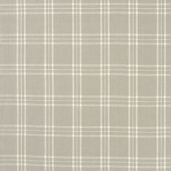 Signature Vintage Linens Fabrics | Cross Wind Plaid - Oyster/Cream | Curtain fabrics | Designers Guild