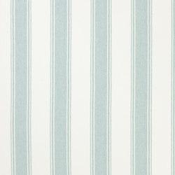 Signature Vintage Linens Fabrics | Danvers Stripe - Pool/White | Tessuti tende | Designers Guild
