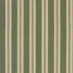 Signature Vintage Linens Fabrics | Mill Pond Stripe - Hedge/Linen | Curtain fabrics | Designers Guild