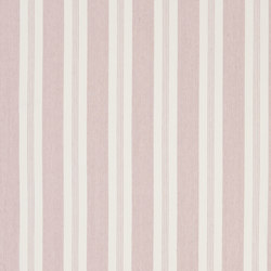 Signature Vintage Linens Fabrics | Mill Pond Stripe - Petal/White | Tessuti tende | Designers Guild