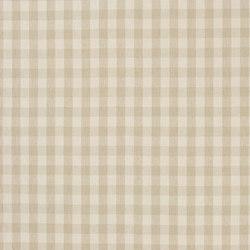 Signature Vintage Linens Fabrics | Old Forge Gingham - Cream/Linen | Curtain fabrics | Designers Guild