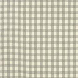 Signature Vintage Linens Fabrics | Old Forge Gingham - Oyster/Cream | Vorhangstoffe | Designers Guild