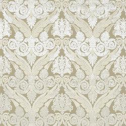 St. James's Fabrics | Stuart Damask - Ivory | Tessuti tende | Designers Guild