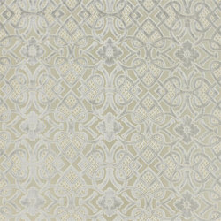 St. James's Fabrics | Henry Brocatelle - Silver | Curtain fabrics | Designers Guild