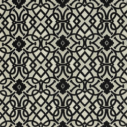 St. James's Fabrics | Henry Brocatelle - Ebony | Tejidos para cortinas | Designers Guild