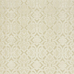 St. James's Fabrics | Henry Brocatelle - Ivory | Tejidos para cortinas | Designers Guild