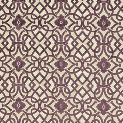 St. James's Fabrics | Henry Brocatelle - Amethyst | Curtain fabrics | Designers Guild