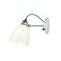 Hector Bibendum Wall Light, Switched with Green Cable | Lampade da lettura | Original BTC Limited