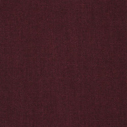 Library Fabrics | Highland Linen - Mulberry | Curtain fabrics | Designers Guild